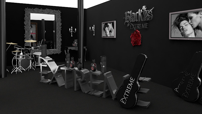 black XS Showroom